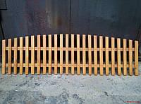 Секция деревянный декоративный штакетник №10