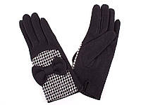 Перчатки женские шерстяные ETERNO (ЭТЭРНО) E2529-black