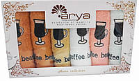 "Набор кухонных полотенец Arya (6-шт)  ""Bearcoffee"""