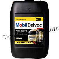 Моторное масло Mobil Delvac XHP Extra 10W-40 канистра 20л
