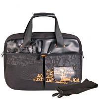 Мужской портфель с карманом для ноутбука GRIZZLY (ГРИЗЛИ) GMN342-4-black
