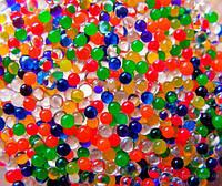 Гелиевые шарики цветные, гидрогели, аквагрунт- растущие шарики (20 пакетиков/уп.)