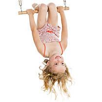 Комплект 3в1 Fun Pack для детской площадки: перекладина, кольца, сидение качели, фото 3