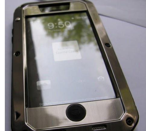 Чехол LUNATIK Taktik (Platinum) для iPhone  4/4S