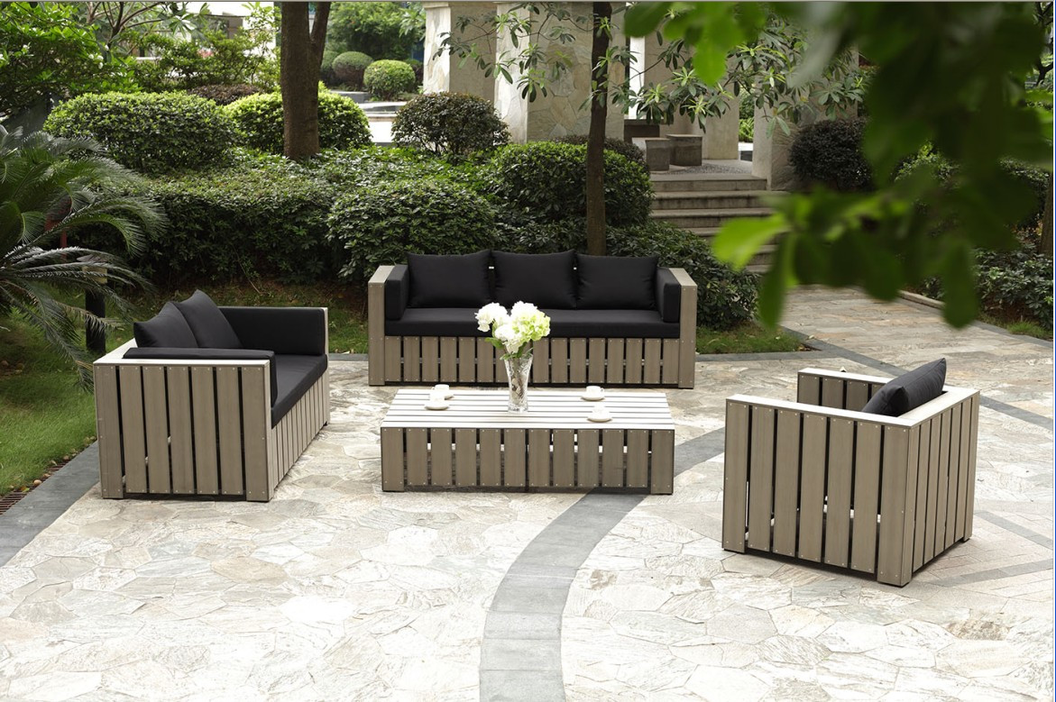 Садовая мебель + непромокаемые уличные подушки из акриловой ткани