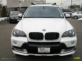 Накладки переднього і заднього бампера Skid Plate BMW X5 2010-2012
