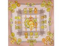 Платок женский шелковый 85*87 см ETERNO (ЭТЕРНО) ES0611-5-beige