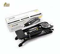Ножной насос с манометром для автомобиля Solar FT 211
