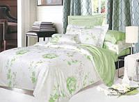 8626 постельное белье Вилюта ранфорс зеленый