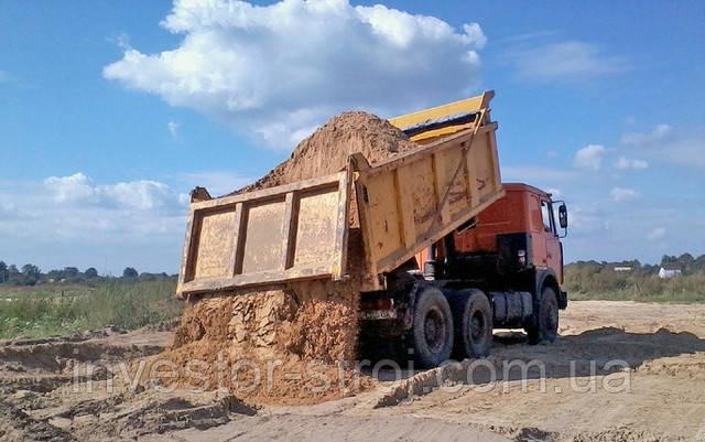 большая машина мытого песка в Харькове