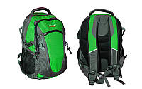 Рюкзак спортивный, городской, для ноутбука 35 л + Rain Covers  ZELART (салатовый), фото 1