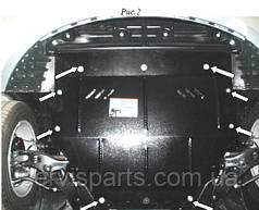 Захист двигуна Kia Optima 2011- (Кіа Оптима)