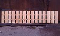 Секция забор декоративный штакетник №13