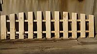 Секция забор декоративный штакетник №12 Сухая строганная доска, 1