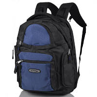 Мужской рюкзак с отделением для ноутбука ONEPOLAR (ВАНПОЛАР) W1063-navy