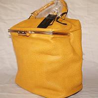 Оригинальная  женская сумка - рюкзак - саквояж Fika Montino Экокожа