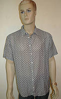 Рубашка мужская Eskola хлопок-шелк с коротким рукавом, фото 1