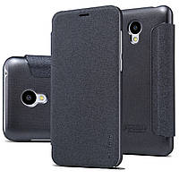 Чехол книжка кожаный Nillkin Sparcle New Leather Case для Meizu M2 / M2 Mini Black