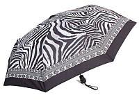 Зонт женский полуавтомат RAINY DAYS (РЕЙНИ ДЕЙС) U72255-grey-chain