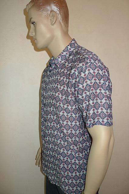 Мужская летняя рубашка большой размер