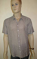 Сорочка Eskola (Турция) с коротким рукавом большой размер, фото 1