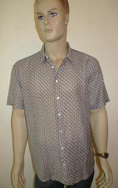Сорочка с коротким рукавом большой размер