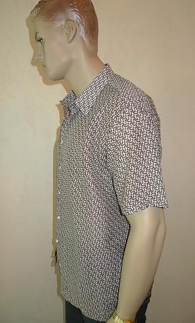 Рубашка Eskola с коротким рукавом большой размер