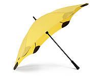 Зонт-трость Blunt Противоштормовой зонт-трость женский механический с большим куполом BLUNT (БЛАНТ) Bl-classic-yellow