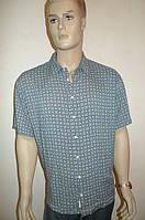 Рубашка хлопок бамбук короткий рукав, фото 1