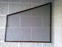 Противомоскитная сетка на трапециевидные окна