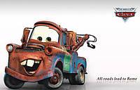 Інтер'єрна наліпка на стіну Тачки Метр / Интерьерная декоративная наклейка в детскую Тачки Мэтр (ay9007), фото 1