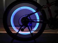 Неонова велопідсвітка для коліс / Неоновая подсветка для колес велосипеда, 4 цвета на выбор