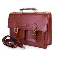 Мужской кожаный портфель ETERNO (ЭТЭРНО) , коллекция FLANSA (ФЛАНСА) ET01A-brown