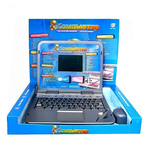 Детский компьютер Мультибук 40 функций, стилус, мышка