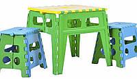 Розкладний стіл пластиковий, 45х50 см / Раскладной стол пластиковый, фото 1
