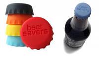 Багаторазова кришка для пива з силікону / Многоразовая крышка для пива из силикона Beer Savers,1 шт.