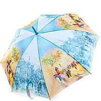 Зонт-трость женский полуавтомат ZEST (ЗЕСТ) Z21625-11