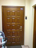 Срочный ремонт входной металлической двери Киев