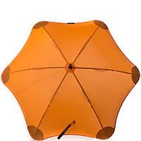 Противоштормовой зонт-трость женский механический BLUNT (БЛАНТ) Bl-lite-2-orange