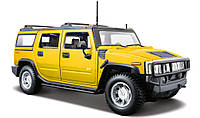 Автомодель (1:27) 2003 Hummer H2 SUV yellow