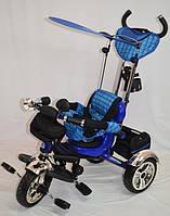 Велосипед Трехколесный Lexus-Trike OPT-S-LX-570  (надувное резиновое колесо,Укомплектован большой, прочной, вместительной корзиной в задней части