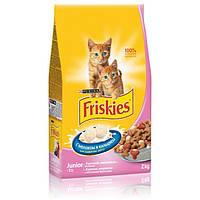 Корм Friskies Junior для котят с курицей и морковью, 1,5 кг