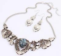 Набор ожерелье и серьги tb1213