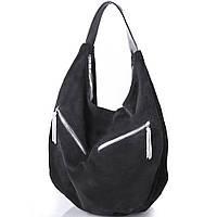 Женская дизайнерская замшевая сумка GALA GURIANOFF (ГАЛА ГУРЬЯНОВ) GG1247-black