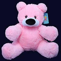 Мишка Бублик розовый 80 см