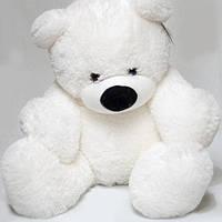 Мишка Бублик белый - 70 см