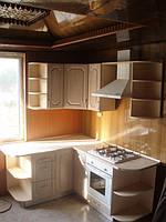 Кухня МДФ пленка угловая
