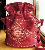 Сумка кожаная женская торба, фото 1