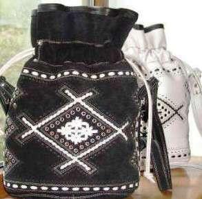 Сумка кожаная женская торба