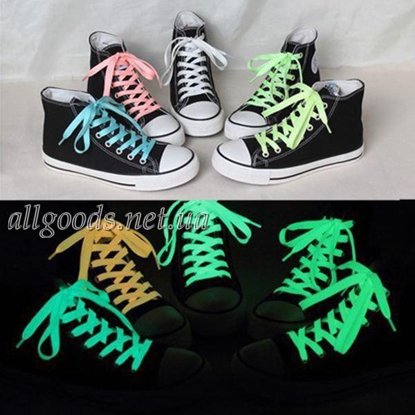 Шнурки флуоресцентные (пара) 120см - Интернет-магазин  Allgoods  в Днепре